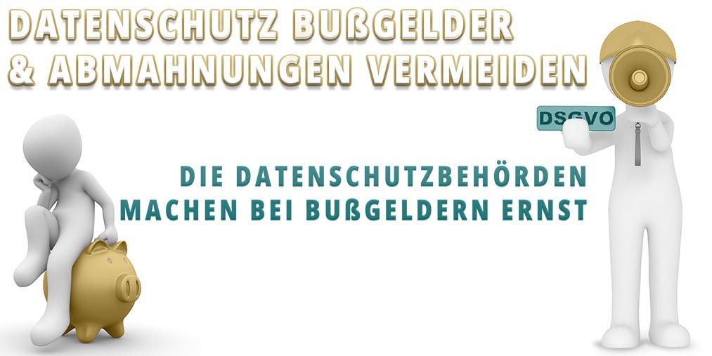 Bussgelder und Datenschutzverstöße vermeiden