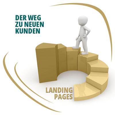 Landingpages zur Neukundengewinnung