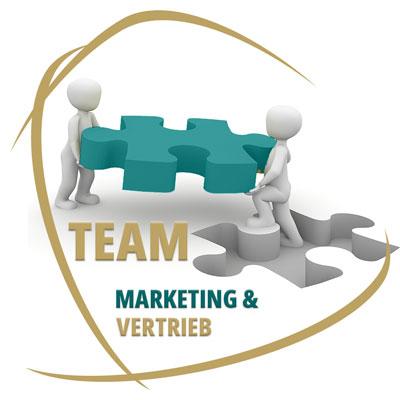 Marketing und Vertrieb im Team zum Verkaufserfolg