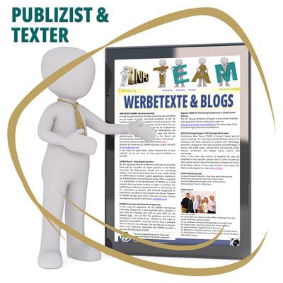 Publizist und Texter - Deutsche Werbetexte