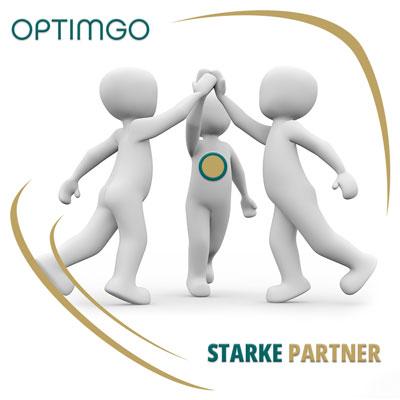 Starke Partner und Kooperationen von OPTIMGO