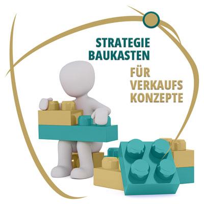 Strategie Baukasten für Verkaufskonzepte