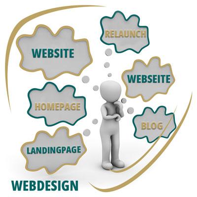 Arbeitsbereich Webdesign