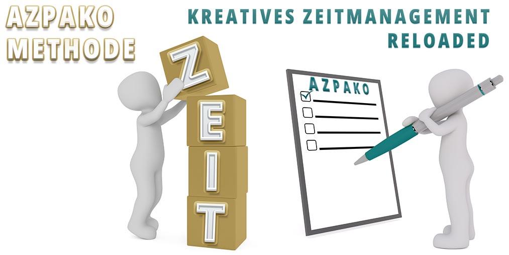 AZPAKO Methode für kreatives Zeitmanagement
