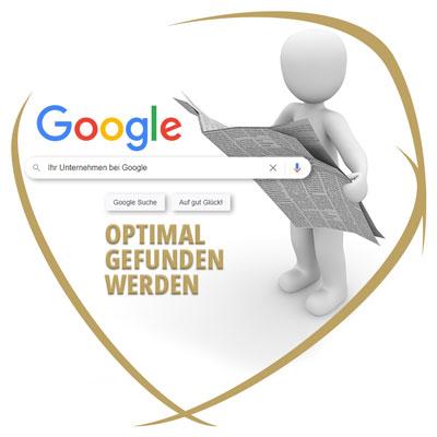 Bei Google optimal gefunden werden
