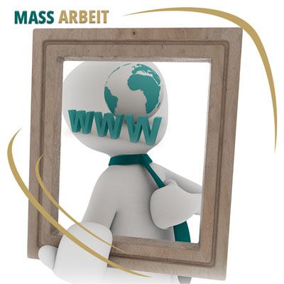 Website digital massgeschneidert