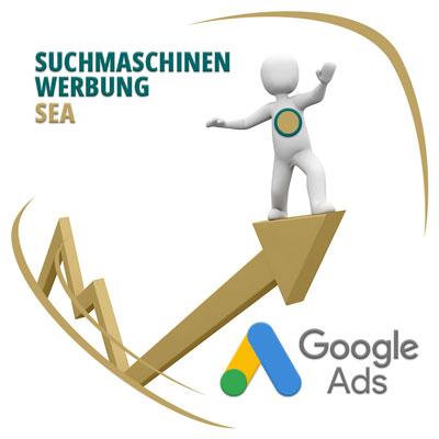 SEA - Google Ads - Optimale Suchmaschinenwerbung