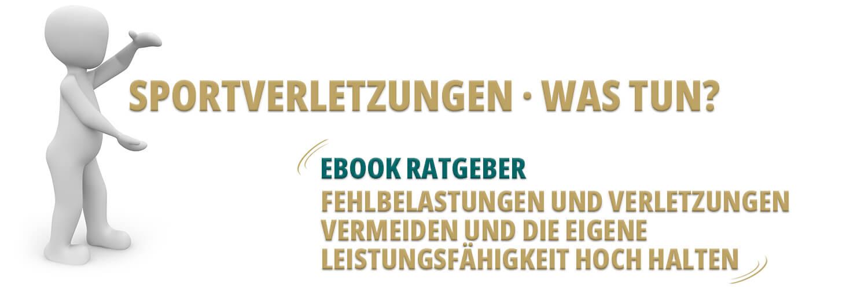 Sportverletzung - Was tun? eBook-Ratgeber