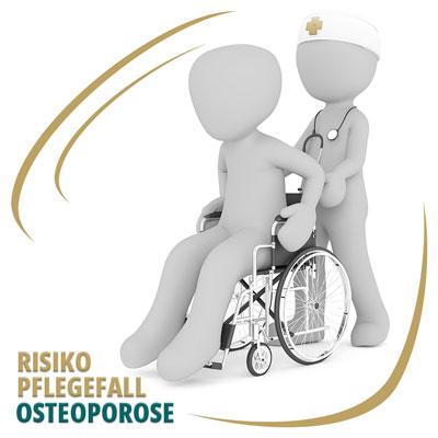 Osteoporose und das Risiko Pflegefall zu werden
