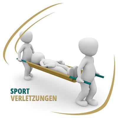 Sportverletzung - Was tun?